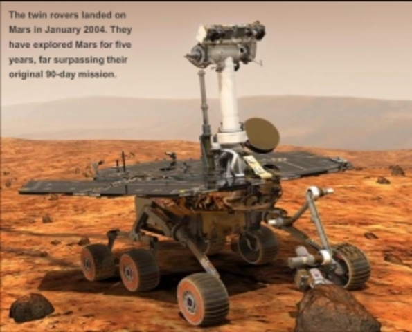 opportunity mars rover timeline - photo #11