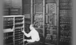 Old computer image  landscape