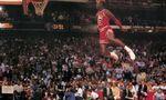 Michael jordan dunking  landscape