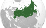 Russian federation (orthographic projection)  landscape