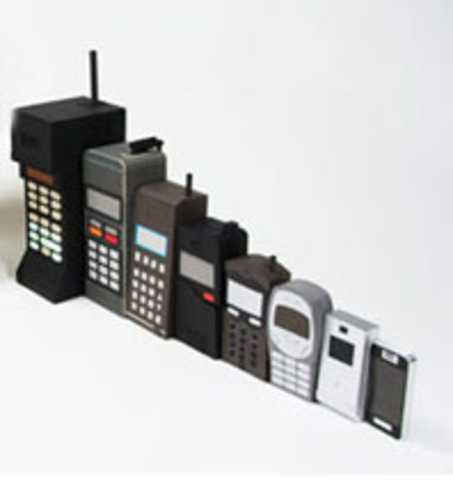cell phone history Beginning in the 1980s, portable phones were like a small-scale cell phone you could talk on your phone anywhere in your house bgr top deals 1.