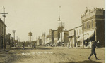 Main st lyle minn.   1910 era  landscape