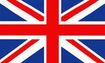British flag  landscape