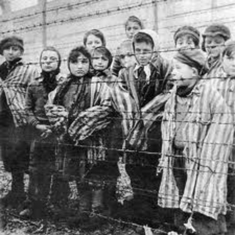A history of the events in the holocaust