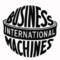 International business machines small square