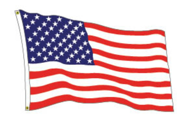 free animated clip art american flag - photo #41