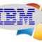 Ibm and microsoft small square
