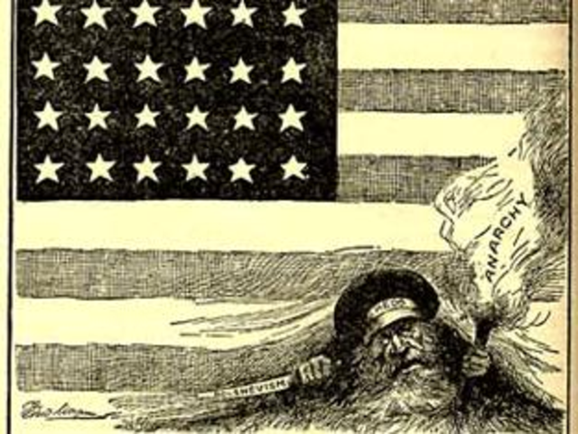 the red scare As it recedes in historical memory, american anti-communism becomes more  interesting as a historical phenomenon try explaining a slogan like 'better dead .