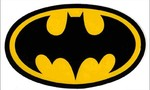 Batman symbol sticker  landscape