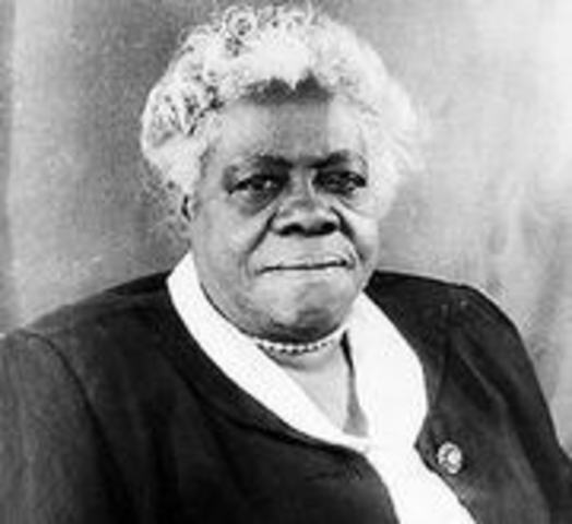 biography of mary mcleod bethune Struggles/challenges-she wanted to be a missionary for the presbyterian church but the board did not expect her application to go to africa-when she work for the roosevelt administration she try to make the federal government require equal pay for.