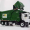 Waste managment truck small square