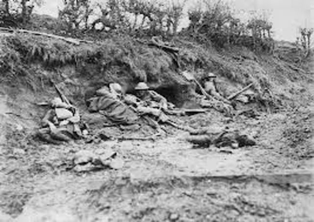 the casualties at the three battle of ypres The first battle of ypres comprised three phases: the battle of langemarck 21- oct-1914 — 24-oct-1914 the four new german corps of the german fourth army made an advance on the british line north east of ypres german casualties were very heavy especially in the vicinity of becelaere and langemarck.