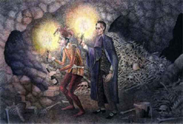 montresor as a tactician in the cask of amontillado by edgar allan poe Montresor lures fortunato down into the dark and eerie wine vault these events set the scene for many of poe's horror stories in cask the setting of carnival takes on a double meaning the cask of amontillado by edgar allan poe.