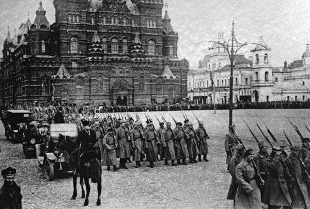 Военное и экономическое положение России в 1920 году
