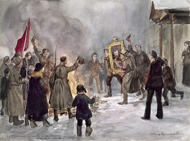the events leading to the russian revolution Beginning with the hanging of czar alexander iii, follow the events of the 1917 russian revolution as they unfolded in this timeline.