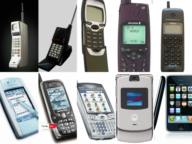 the history of cell phones Share your cell phones timeline (history) in a neat way or simply keep track of your owned mobile devices in time cell phones stats including phone of the year in.