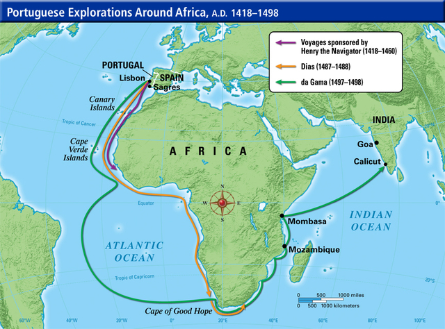 Ap World History The Age Of Exploration Where Is Our Next: European Exploration Into Africa Timeline