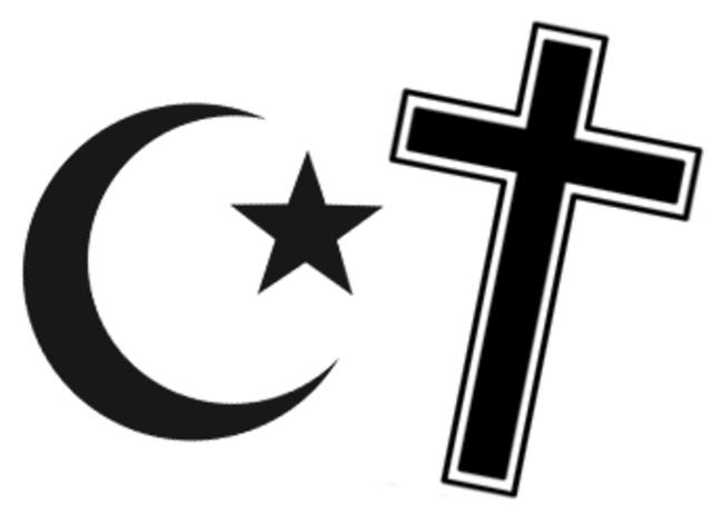 Caucasian christian world vs oriental muslim world 2 6
