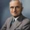 biography on president truman