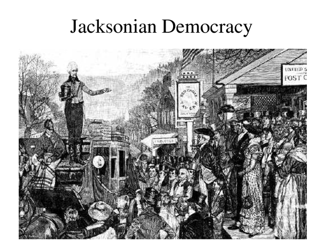 What was jacksonian democracy