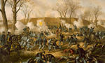 Battle of fort donelson tiny landscape