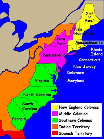 an analysis of the religious freedom in colonies of british north america before 1700 History of the united states the colonial heritage it was the second permanent british settlement in north america between 1628 and 1630 reports of the economic success and religious and political freedom of the early colonists attracted a steady flow of new settlers.