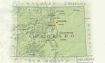 Colorado on the map  landscape