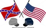 Stock vector american civil war stencil first variant vector illustration 118341676  landscape