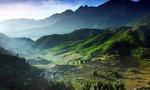 Sapa vietnam  landscape