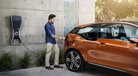 2013 bmw i3 concept coupe electric car charging