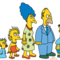 Simpsons on tracey ullman small square