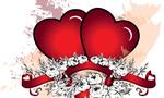 1234132561 love heart vector design  landscape