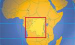 Congo dr small map  landscape