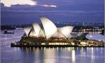 Sidney opera  landscape
