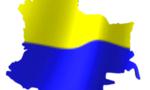Bandera de colombia  landscape