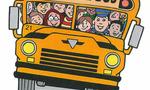 School bus  landscape