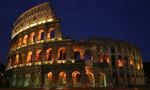 Rome holiday colosseum full  landscape
